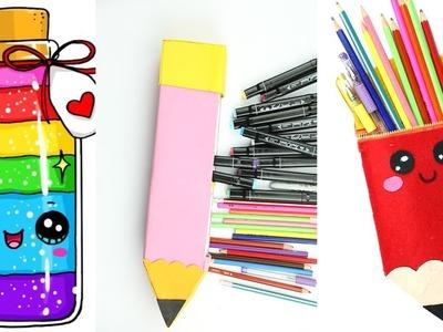 DIY School supplies,Weird Back to School Hacks!