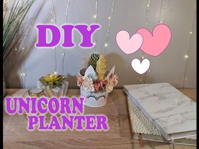 DIY Unicorn Planters!!    .    Cute Unicorn Decor   .   Easy DIY Party Crafts!