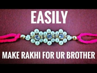 Easy Rakhi DIY | Handmade Rakhi | How to Make Rakhi at Home  | Rakhi Designs for Competition