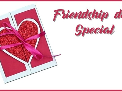 Friendship Day Card | Friendship Day Special | Greeting Card | DIY Quick Crafts