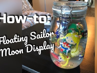 How To - Floating Sailor Moon Toy Display DIY