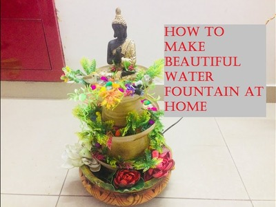 How to make fountain at home. DIY water fountain