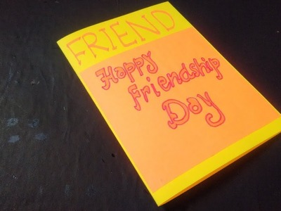 How to make : Friendship Day Special Paper Card | Dinesh Arts