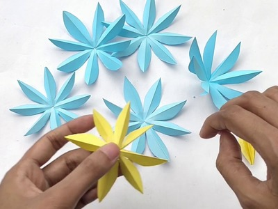 How To Make Water Lily With Paper ||  Make Beautiful Lotus