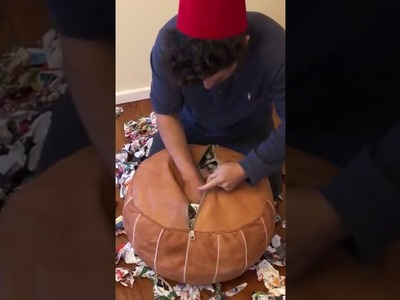 How to Stuff a Moroccan Pouf