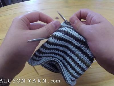 Knitting with Addi FlexiFlips