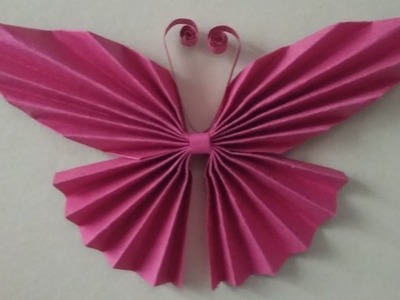 Paper butterfly how to make