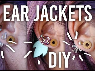 Tackling my Craft Hoard - Ear Jackets 3 Ways : DIY