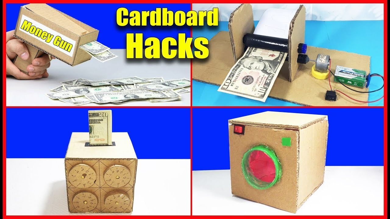 Top 5 Awesome Life Hacks From Cardboard You Should Know DIY at Home #02