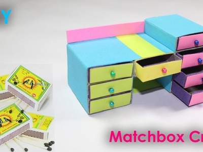 Waste Matchbox reuse idea   Best out of waste   DIY arts and crafts   easy to make