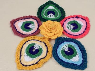 WOW ! Amazing Design Rumal | Woolen Rumal Making | DIY Room Decor | Crafts | Table Mat| Thalpos