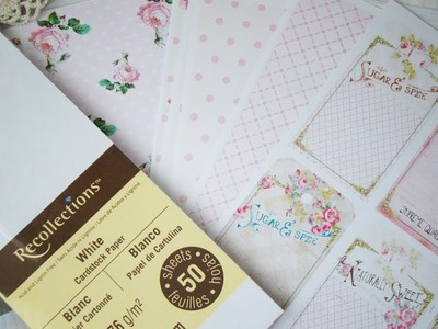 Como imprimir papel digital.How to print Digital Paper TUTORIAL SCRAPBOOKING | Iralamija
