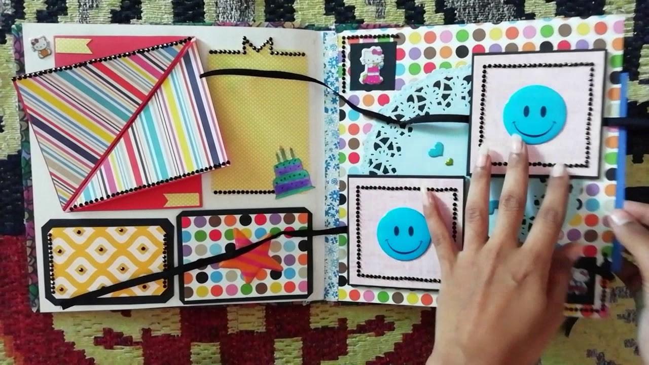 DIY Birthday Scrapbook