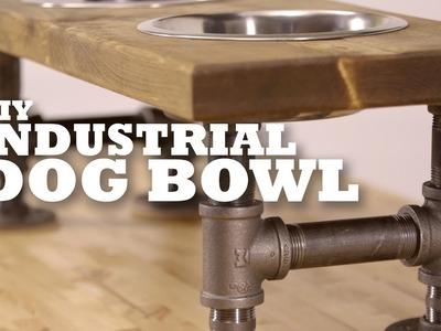 DIY Industrial Dog Bowl