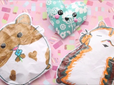 DIY PAPER SQUISHY | HOW TO MAKE CUTE PAPER SQUISHIES