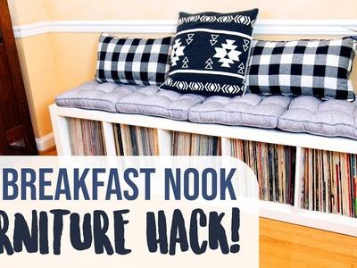 DIY Renter-Friendly Breakfast Nook in a Small Space - HGTV Handmade