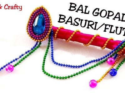 Easy Bansuri or Banai for Laddu Gopal.DIY Flute for Bal Gopal.Handmade Murli from lollipop stick