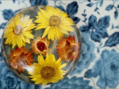 EASY DIY! Dried Flowers in Resin!  ????????. Garden Answer