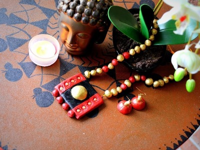 How To Make Terracotta Necklace