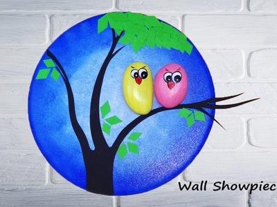 How to Make Wall Showpiece - Wall Decor Diy - Interior Showpiece
