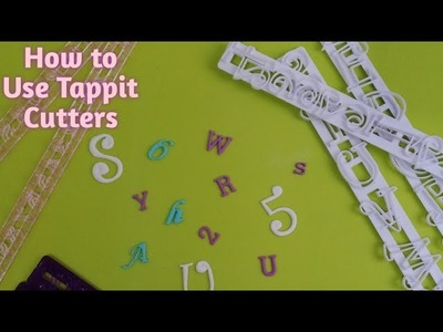 How to Use TAPPIT Cutters - Tutorial
