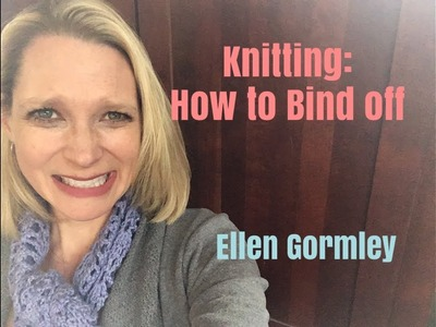 Knitting: Knit Bind Off