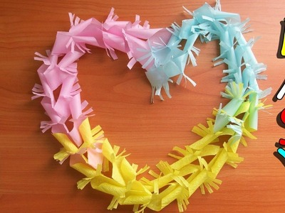 No Glue Garland| Paper Crafts for Birthday|Christmas| New Year Party Decoration