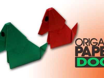 Origami Paper Dog Step By Step | Popular Craft | How To Make A Paper Dog Easy For Kids
