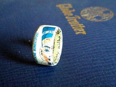 Paper Diy jewelry ring