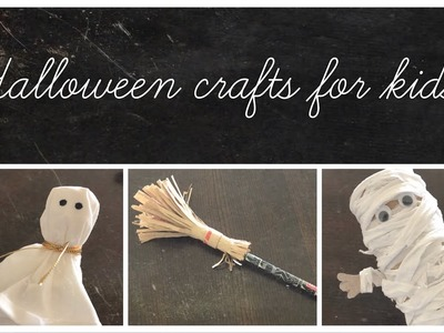 Simple And Easy DIY Halloween Crafts For Kids   Halloween 2018