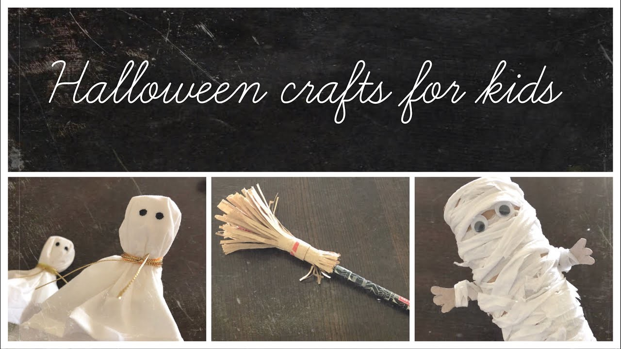 Simple And Easy DIY Halloween Crafts For Kids | Halloween 2018