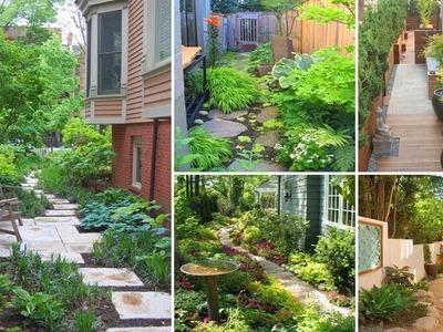 100 Beautiful Side Yard Garden Decor Ideas | DIY Garen