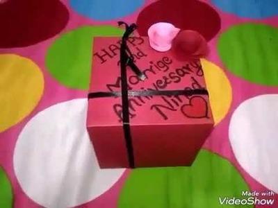 Best surprise for husband|Gift box husband|explosion box|diy gift
