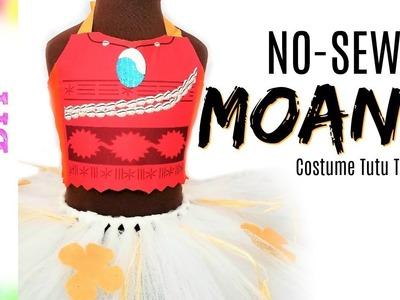 D.I.Y. Moana Inspired NO-SEW Costume Tutu