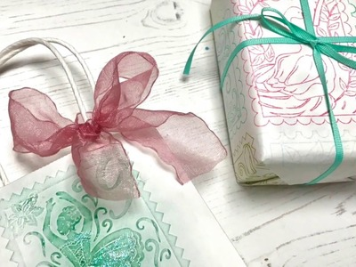 DIY Christmas Gift Wrapping Ideas with Pretty Quick 12 Days of Christmas