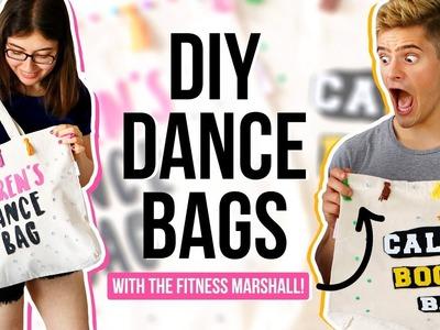 DIY DANCE BAGS with The Fitness Marshall! | @karenkavett