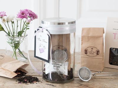 DIY : Decorative tea kit by Søstrene Grene