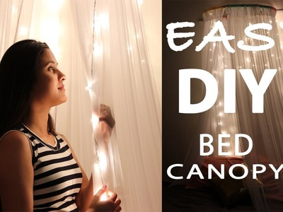 DIY Easy Bed Canopy | Room Decor | Varsha Chauhan