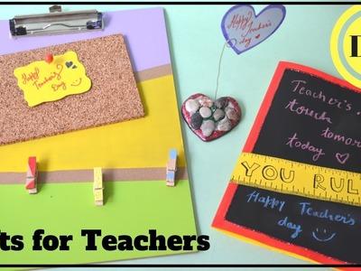 DIY: EASY HANDMADE GIFTS for TEACHER I TEACHER'S DAY SPECIAL