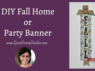 DIY Fall Home or Party Banner
