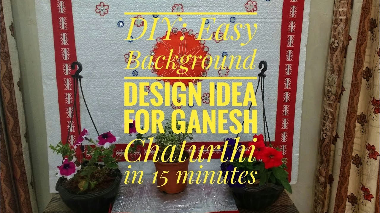 Diy Festival Background Decoration Ideas At Home Backdrop For