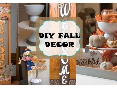 DIY Home Decor Ideas | DIY Home Decor | DIY Fall Decor 2018