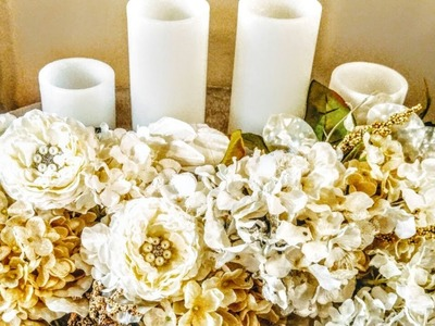 DIY| How To Elegant Centerpieces