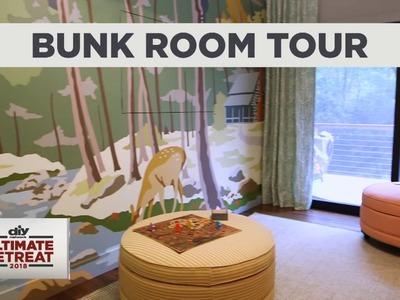 DIY Network Ultimate Retreat 2018 - Bunk Room Tour