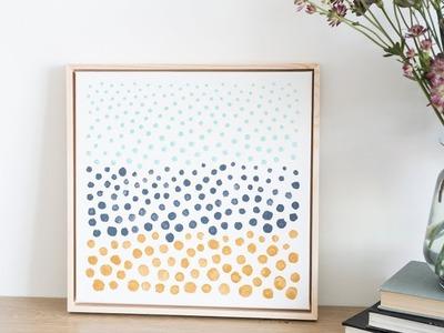 DIY : Paint your own work of art by Søstrene Grene