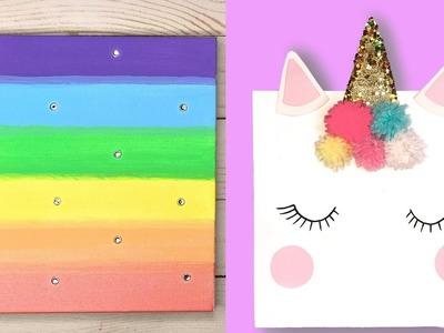 DIY Room Decor Ideas for Girls | Unicorn Wall Decor | Easy