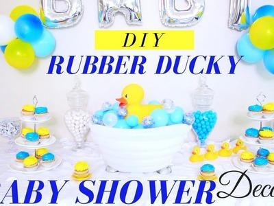 DIY | Rubber Ducky Baby Shower Centerpiece | Baby Shower Decoration Ideas