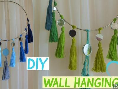 DIY  |  TASSEL WALL HANGING | Unique Wall Decor  | Home Decor