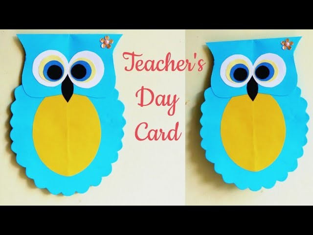 Diy Teachers Day Card Handmade Teachers Day Card Making Ideas Kids