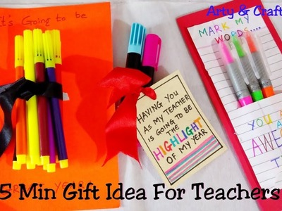 DIY Teacher's Gift.3 Great Gift Ideas for Teachers.Budgeted Teachers Gift Idea